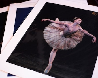 Ballerina Ashley Bouder Autographed Giclée