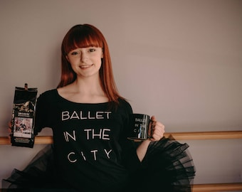 Ballet in the City Coffee & Mug Gift Set