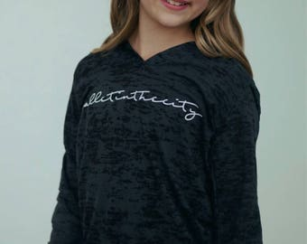 Ballet in the City Long Sleeve T-Shirt Hoodie