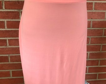 1f023a7a73 Ladies knee length modest pencil skirt. Sizes 6-24