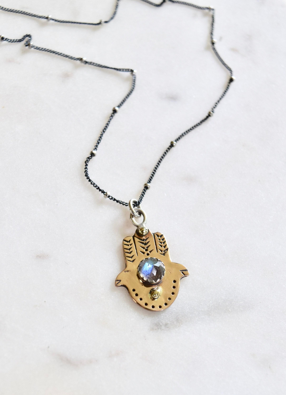 evil eye spirits Talisman Jewelry Protective Shaman necklace