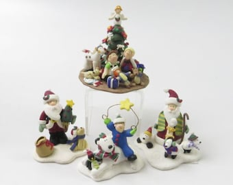 The Little Street Collection, Polar Bear, Elves, Santa, Dogs, Penguin, Christmas Village, Holiday Village