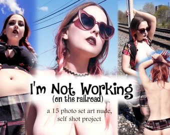 I'm Not Working (on the railroad) - nsfw art project