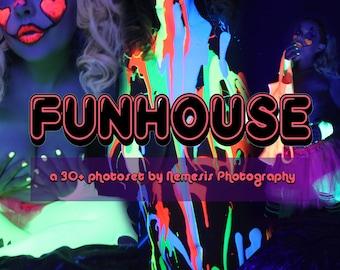 Funhouse- a modern pin-up photoset