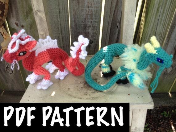 Chinese Dragon Crochet Pattern Etsy