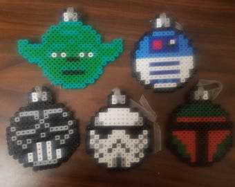 Star Wars Character Christmas Ornaments