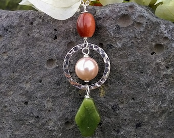 Earth stone Necklace