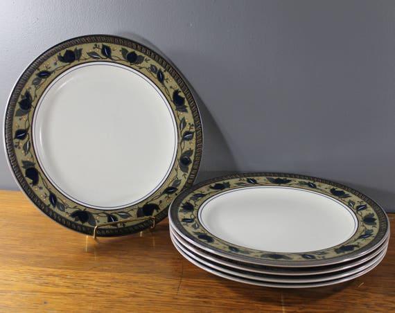 mikasa intaglio arabella dinner plate Vintage dinnerware Mid