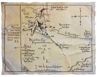 prop thorins map the hobbit