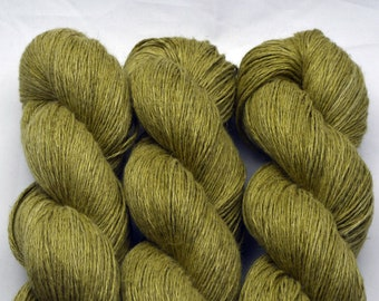 Hemp Canneto In March, hand-dyed with natural colours, 100g-330 m,