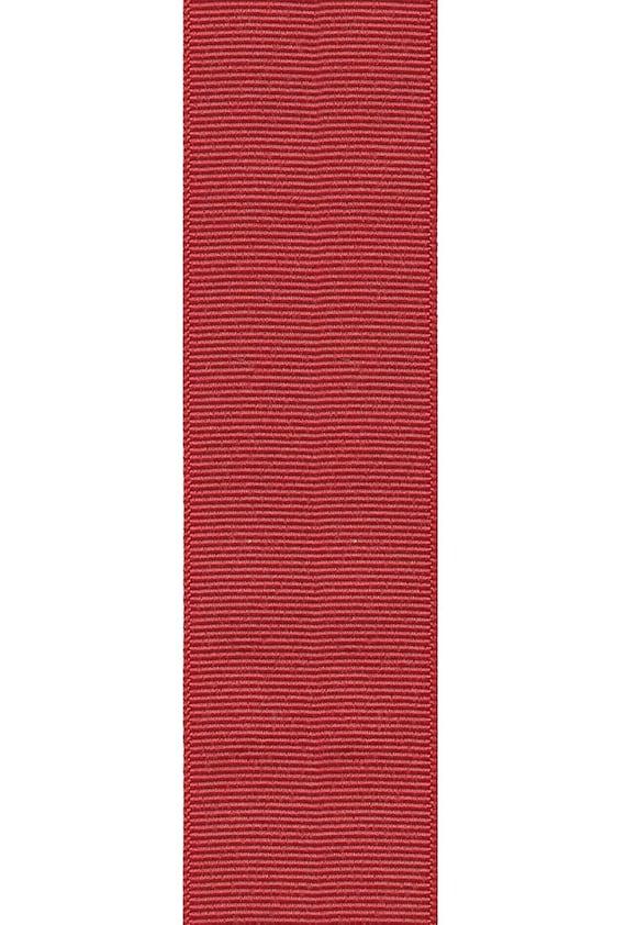 Offray Grosgrain Craft Ribbon 78 X 18 Boradeaux Etsy