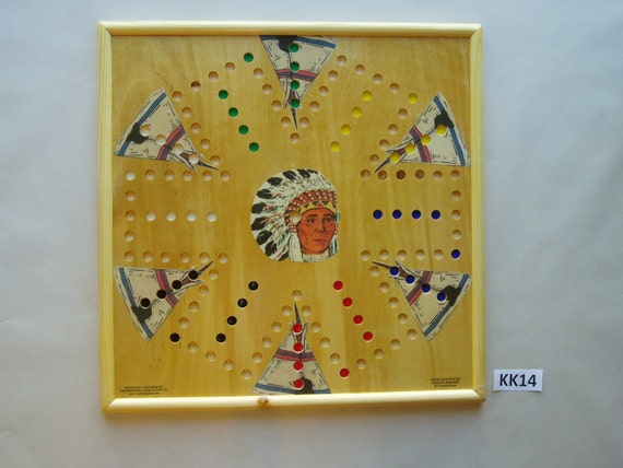 Wahoo Game Board Wooden 20 X 20 6 Player With Images Etsy