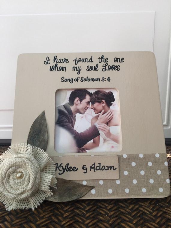 Marco de boda personalizado regalo para novios boda marco boda ...