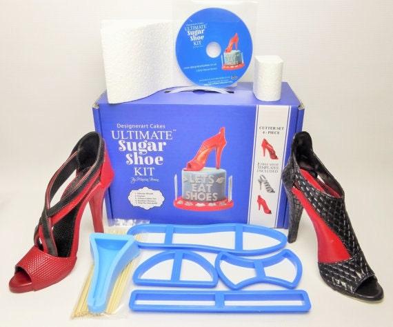 Le kit ultime sucre chaussure haut talon chaussure sucre ultime & Dvd tutoriel pour Cake Toppers - Designerart gâteaux 032c43