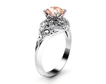 Ayala Jewelry Unique Engagement Ring Rose Gold Von Ayaladiamonds