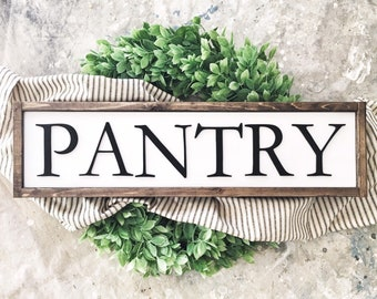 pantry sign farmhouse