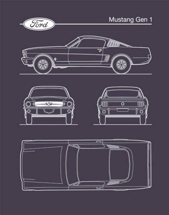 Auto art patent print ford mustang gen 1 blueprint ford etsy auto art patent print ford mustang gen 1 blueprint ford mustang poster ford mustang art ford mustang decor p472 malvernweather Gallery