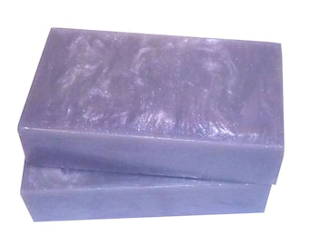 Silver Soap - The COLLOIDAL SILVER Bar - A Unique Soap Bar Made with Silver, Fresh Aloe, Lime & Lemon Juice, Vegan, Men's, Shaving, Beard