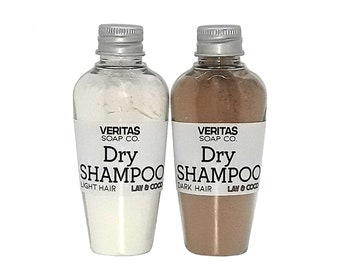 DRY SHAMPOO - For Light & Dark Hair / Vegan /