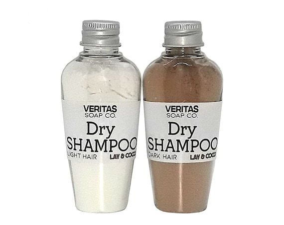 DRY SHAMPOO - For Light & Dark Hair / Vegan /