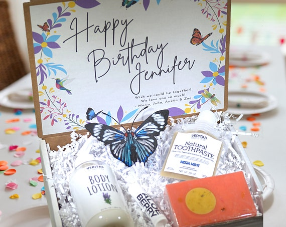 BIRTHDAY Bestseller Gift Box - Gift for Friend | Family | Coworker | Personalized Gift | Spa Box | Gift for Teen