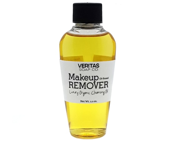 MAKEUP REMOVER - A Lovely Blend of Organic Oils to Help Remove Long Wearing & Waterproof Makeup / Vegan / 24 hour Makeup / Cleansing Oil
