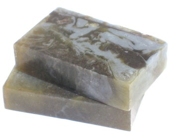 Patchouli Soap - The BOHEMIAN Bar -  100% Pure Patchouli & Orange Essential Oil, Vegan, Indigo, Chamomile, Hippie, Dreads, 420, Gift for Him