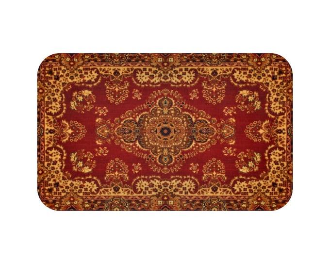 GOLDEN BRICK VINTAGE Floor Mat | Bath Mat | Kitchen | Elegant Home Décor | Trending | 18th Century Style