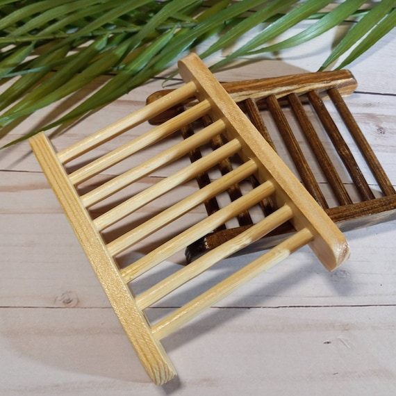 Ladder Style SOAP DISH | Soap Saver | Pine | Eco Friendly | Wood