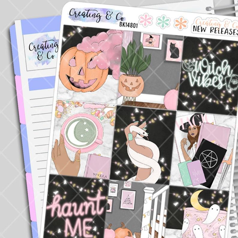 Haunt Me  Halloween Planner Stickers Kit image 0