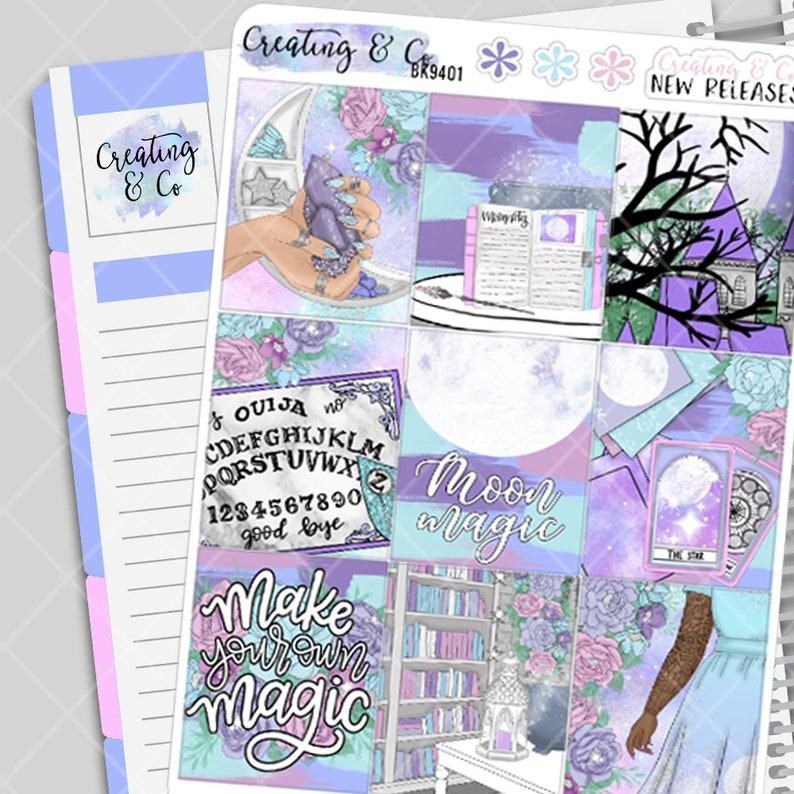 Moon Magic Weekly Planner Kit image 0