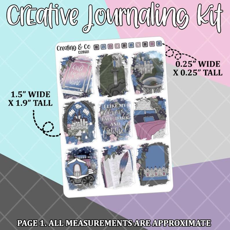 Fictional Lover Creative Journaling and Planning Kit Book Boyfriend CJ286