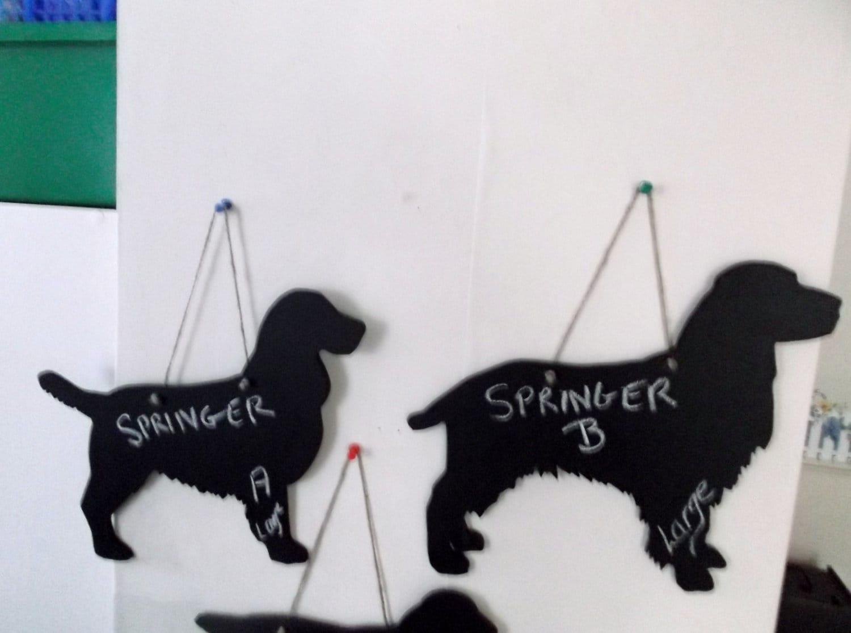 SOPHIE ALLPORT HANDMADE FABRIC COCKER SPANIEL DOG HANGING HEART DECORATION