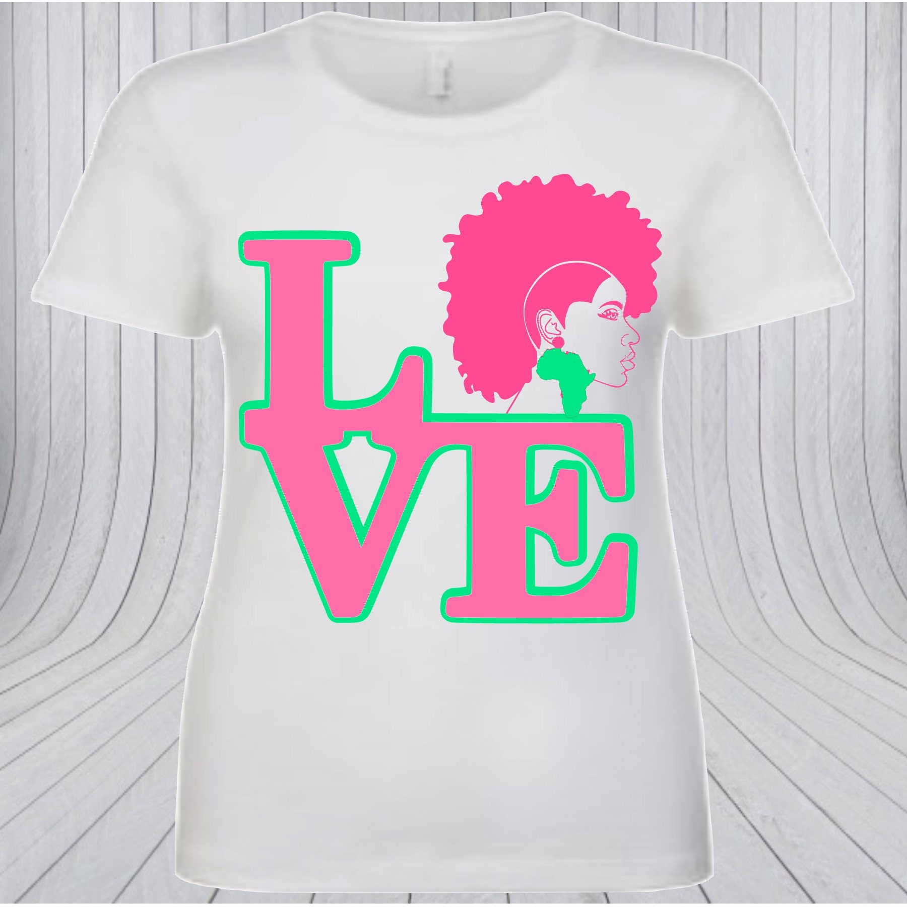 24c0145fdded AKA LOVE T-shirt Black Girl Magic T-shirt Custom T-shirt