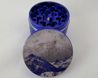 Starry Sky and Mountain | 2 Inch (50mm) Metal Herb Grinder