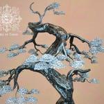 Big Bonsai sculpture named Myrddin (Moyogi style)