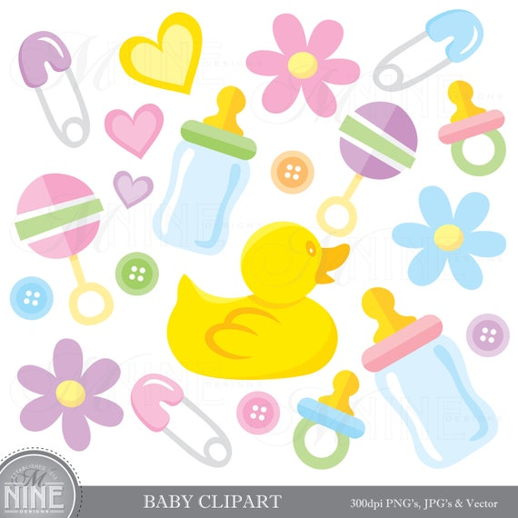 BABY Clip Art Clipart Downloads Baby Theme Shower