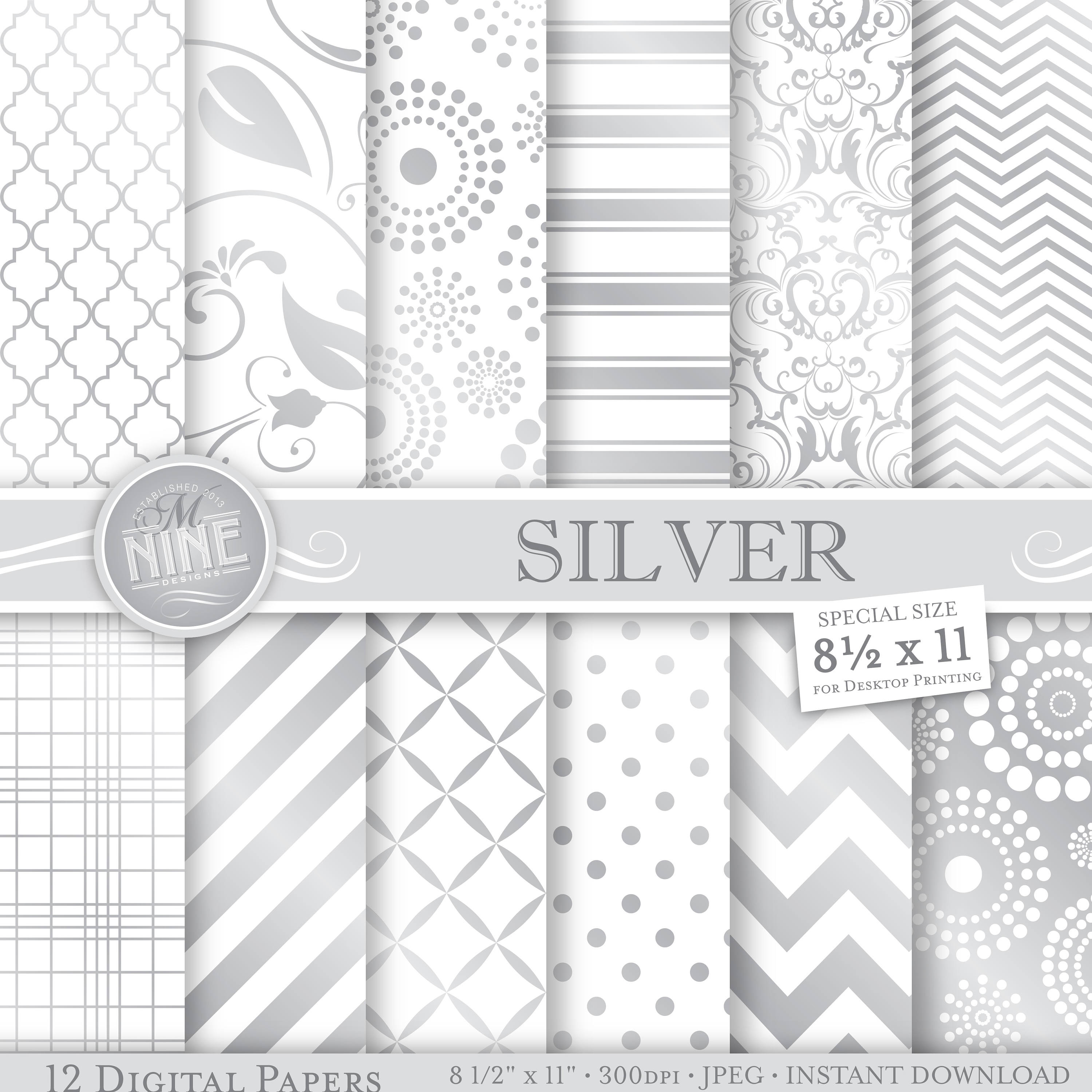 Silver Patterns New Design Inspiration