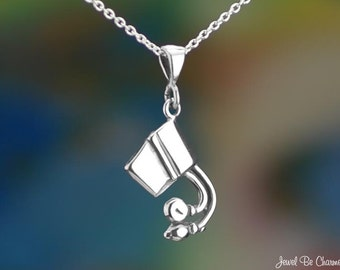 """Sterling Silver Blood Pressure Cuff Necklace 16-24"""" or Pendant Only"""
