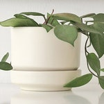 VERY RARE Lauffer USA Arabia Finland Planter Plant Flower Pot Mid Century Modern Gainey Architectural Pottery Stand Flowerpot /Free Shipping