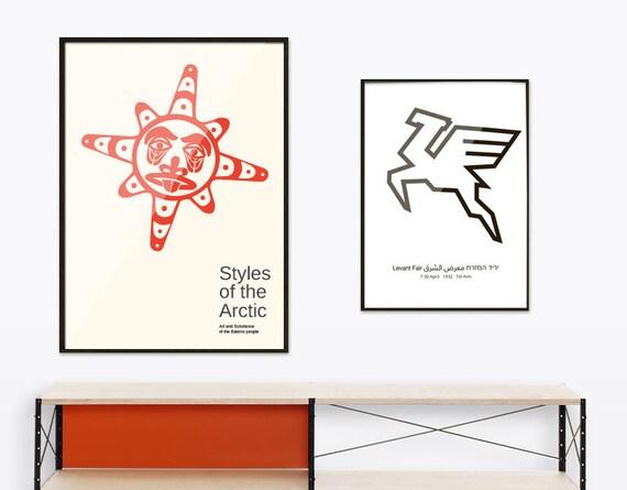 Styles Arctiques Mi Art Scandinave Du Siècle Moderne Inuit