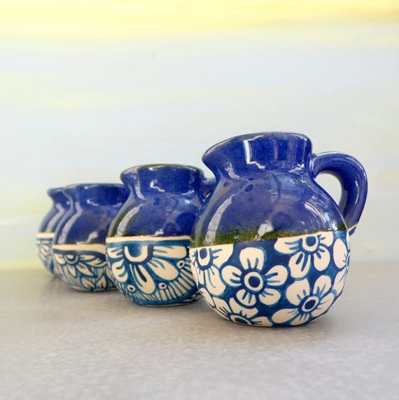 Blue And White Tableware Kitchen Accessories Handmade Etsy