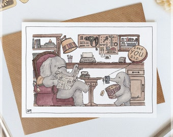 Special Days // Family Cards ~ Original Greeting Cards with Watercolour & Ink Illustrations