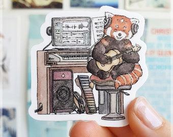 School Student Animal Stickers ~ Waterproof Vinyl Stickers