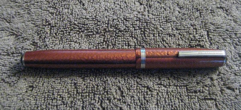 Bookkeeping Vintage Copper Colored Esterbrook \u201cJ\u201d Fountain Pen VG Condition Nib #1550 Firm EF