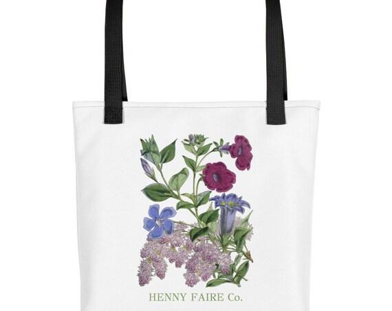 HF Vintage Lilacs Tote Bag