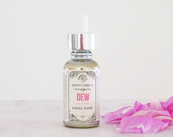 DEW antioxidant facial elixir with vitamin C & CoQ10