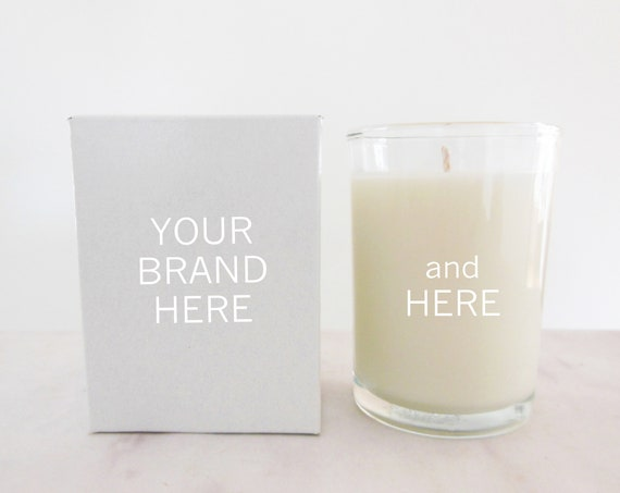 24 bulk candles for private label   Add your logo and customize unlabeled, unbranded candles