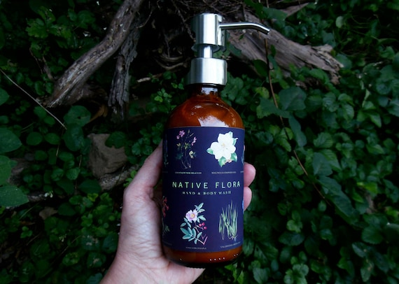 NATIVE FLORA Hand & Body Wash