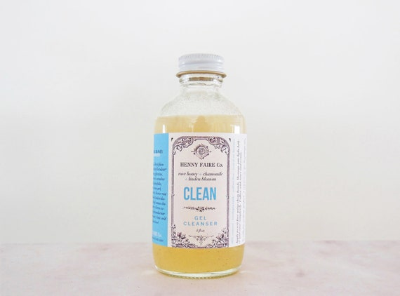 CLEAN gel cleanser || raw honey + linden blossom + chamomile